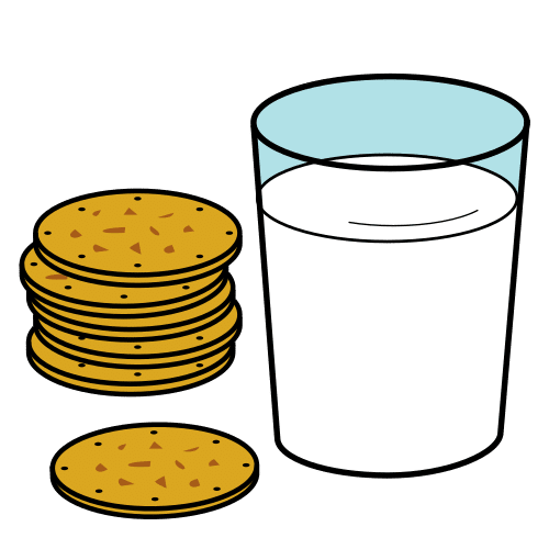 biscuits and milk