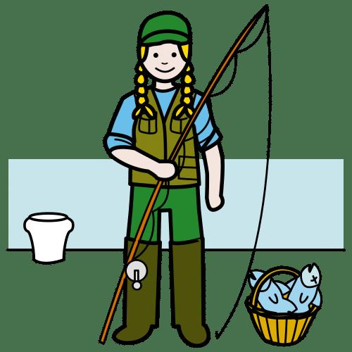 fisherwoman, fisher