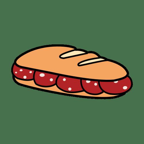sandwich/roll