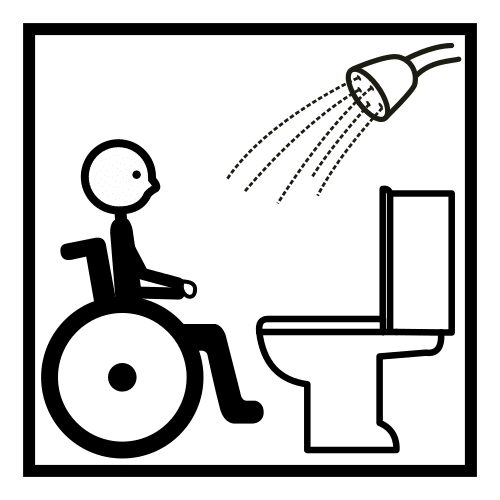 adapted toilet