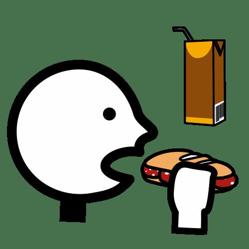 mid-morning snack