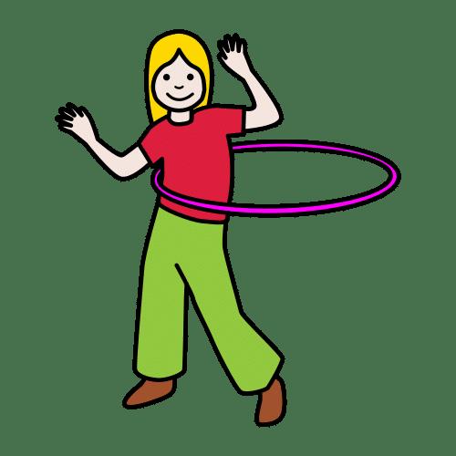 vrteti hula hop