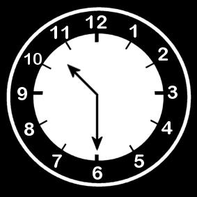 10:30 Clock Half Past 10