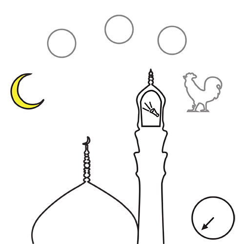 Global Symbols · Isha prayer in Tawasol